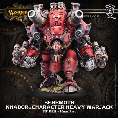 Khador Heavy Character Warjack Behemoth