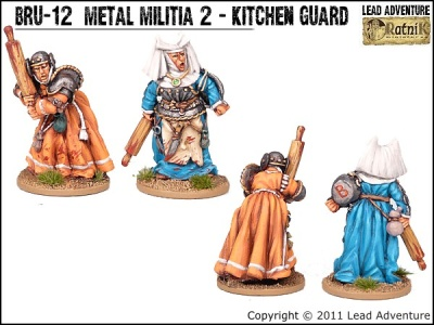 Metal Militia of Bruegelburg 2 - Kitchen Guard (2)
