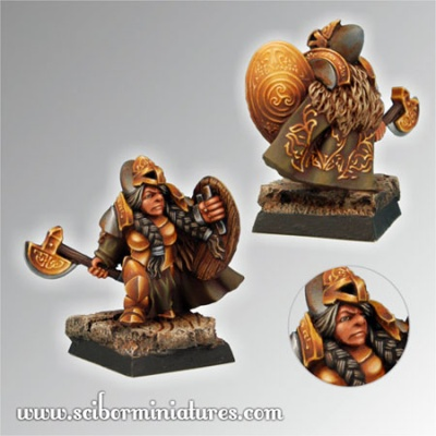 28mm/30mm Dwarf Female Gertrude