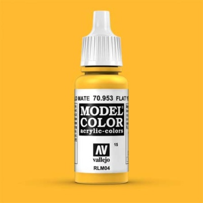 Model Color 015 Signalgelb (Flat Yellow) (953)
