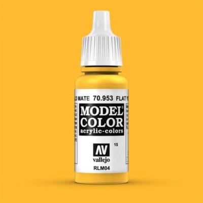 Model Color 015 Signalgelb (Flat Yellow) (953)