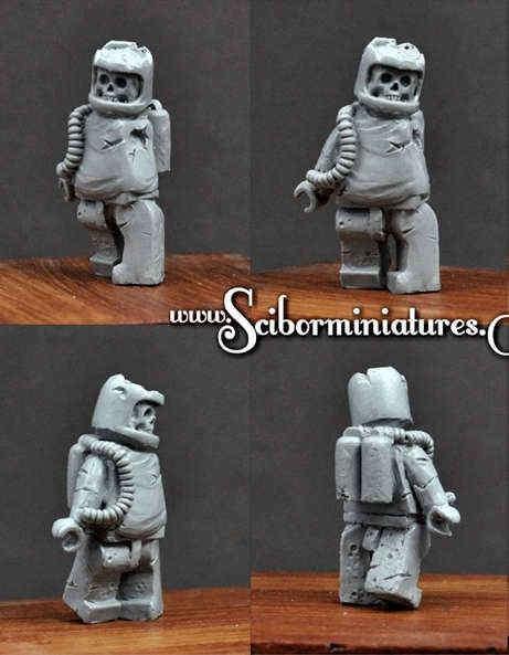 Astronaut Zombie #3