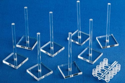 8x Small Flight Stands Pack