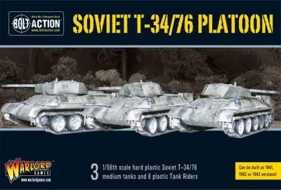 Soviet T34/76 platoon