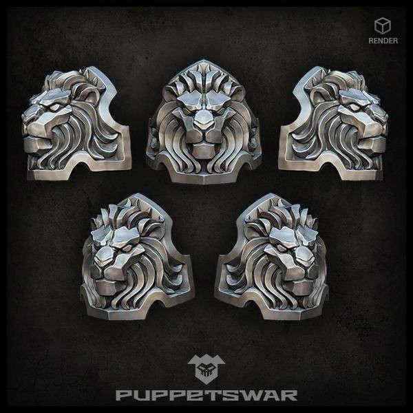 Lion Shoulder Pads