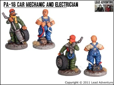 Car mechanic and Electrician (2)