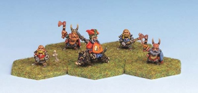 Dwarf Heroes and Commanders (5)