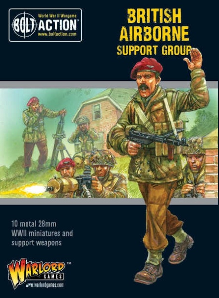 British Airborne Support Group (HQ, Mortar & MMG)