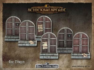 Spielemarker: Türen