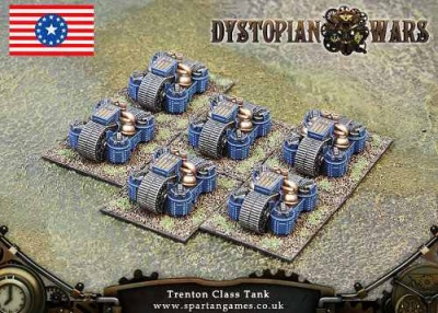 Federated States of America Trenton Class Medium Tank (OOP)