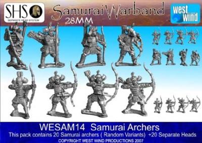 Samurai Archers (20 Figures)