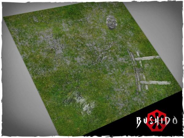 Game mat - Bushido Temple Ruins 2x2