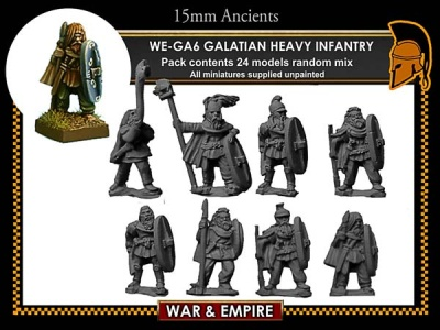 Celtic/Galatian Heavy Infantry
