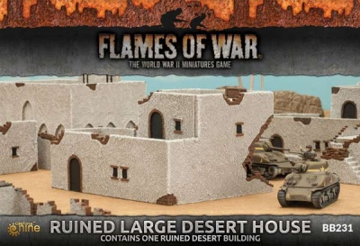 Runied Large Desert Houses