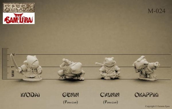 SAMoUseRAI: Kyodai, Chunin, Genin, Okappiki (3)