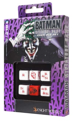 Batman Miniature Game - D6 Joker Dice Set (6)