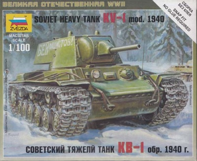 1:100 Wargame AddOn: KV-1 1940
