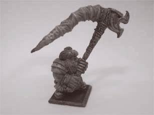 Zwergen Standartenträger mit Muskete