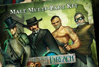 Through the Breach RPG: Male Multi-Pose Figures (11)