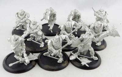 WARMACHINE: Mercenary Boomhowler & Co. Unit (10)