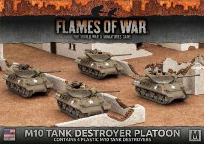 M10 3-Inch Tank Destroyer Platoon (plastic)