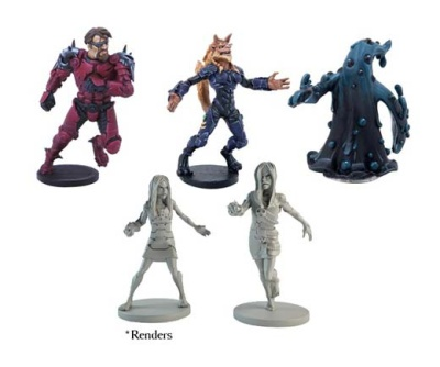DreadBall Hazard System Heroes - All Star MVP pack (5)