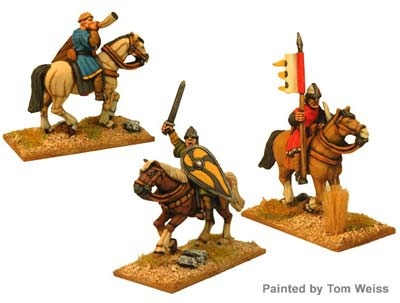 Unarmoured Norman Cavalry Command (3)