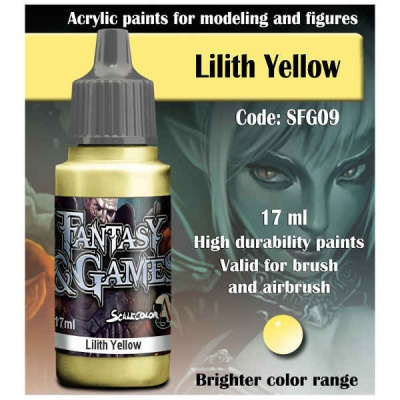 Scalecolor Fantasy 09 Lilith Yellow (17ml)