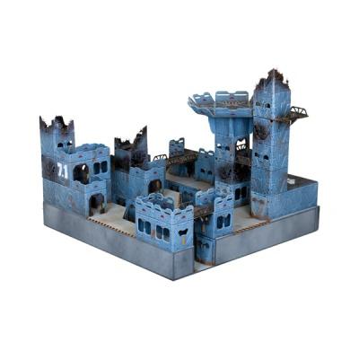 Battlezones: Sci-Fi Urban Quadrant (OOP)