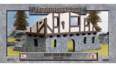 Wartorn Village - Large Ruin
