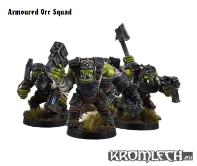 Armoured Orc Squad (10)