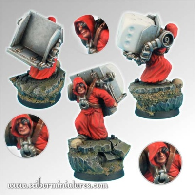 28mm Servant Dice Bearer