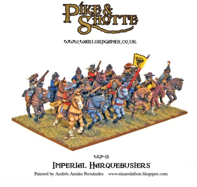 Imperial Harquebusiers (12)