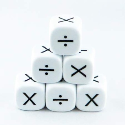 16mm Educational Dice x÷