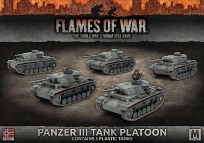 Panzer III Platoon (Plastic)