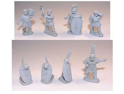 Roman Marching Camp (8 pieces)