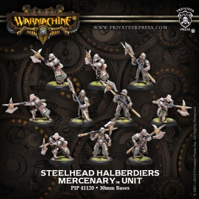 Mercenaries Steelhead Halberdiers/Riflemen Unit (10)