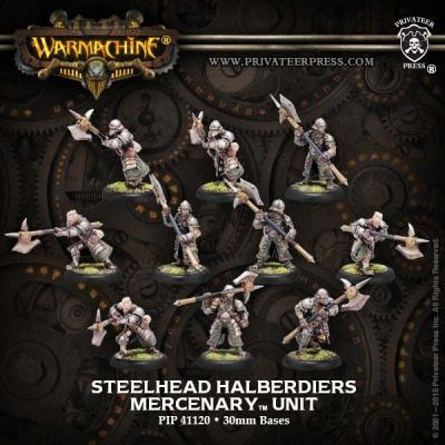 Mercenaries Steelhead Halberdiers/Riflemen Unit (10)