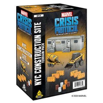 Marvel Crisis Protocol: NYC Construction Site Terrain - EN