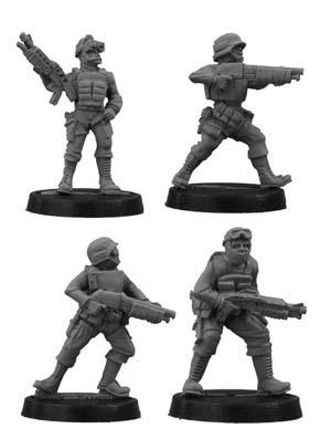 SWAT team with Shotguns (4)