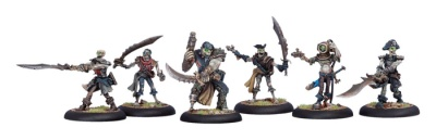 Cryx Revenant Pirate Crew Unit Box