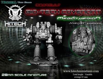 """Megatherion Heavy Walker """"Voivod"""" pattern"""