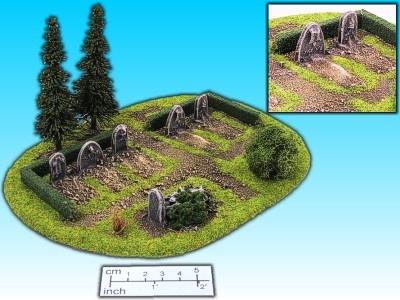 Geländestück Friedhof
