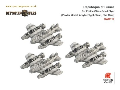 Republique of France Frelon Class Small Flyer (3)(OOP)