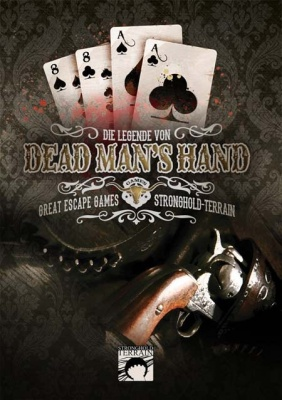 Dead Man`s Hand Regelbuch (Wild West) DEUTSCH