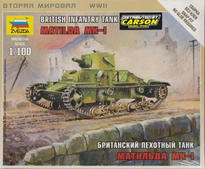 1:100 Wargame AddOn: Matilda MK-1