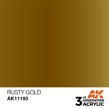 Rusty Gold 17ml