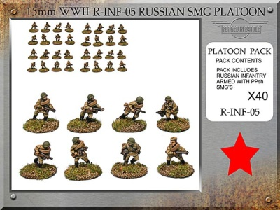 Russian Sub Machine Gun Platoon