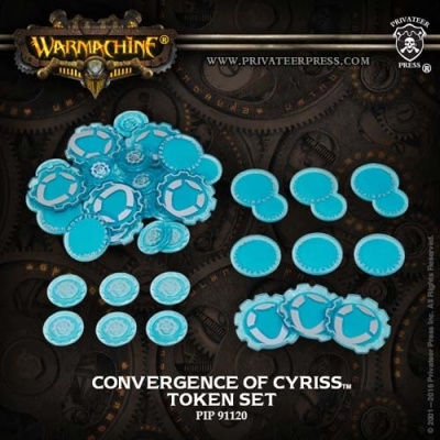 WARMACHINE Convergence Faction Tokens 2016