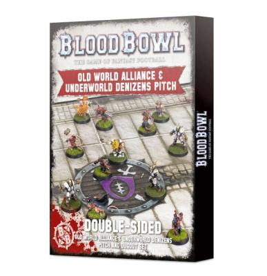 Blood Bowl Old World + Underworld Pitch